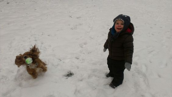 First time snow buddies