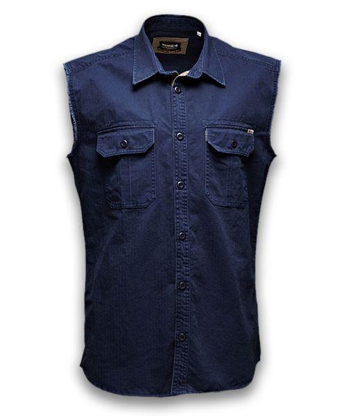 Une chemise sans manche de JACK & JONES Vintage. Je ne sais pas si je peux bien porter cet été?