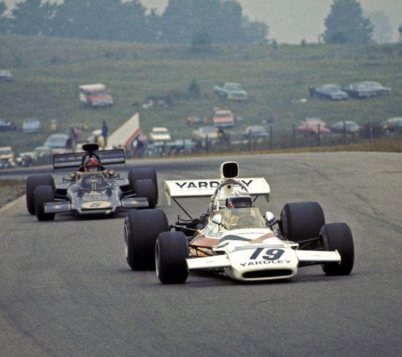 Peter Revson & Emerson Fittipaldi, Mosport 1973