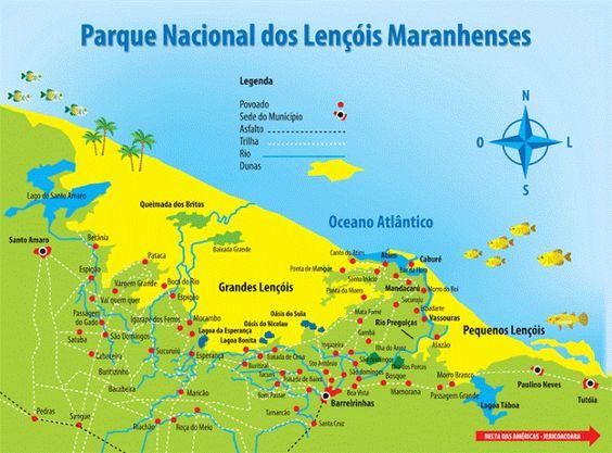 Parque Nacional dos Lençóis Maranhenses – Maranhão, Brasil.