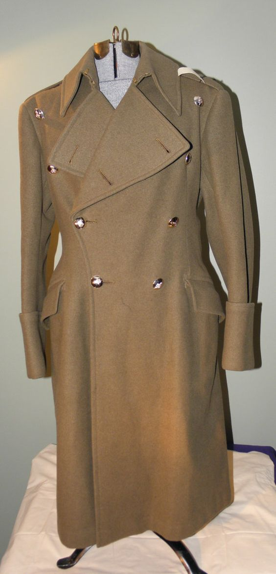 British Military Trench Coat Sm Coats