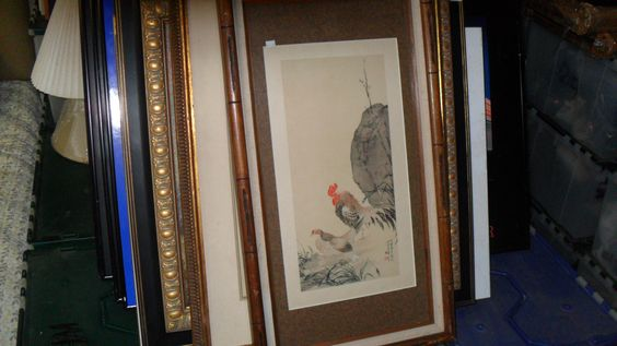 20131 usa reframed art work - signed - $999 or best offer -free ship worldwide from costa rica a