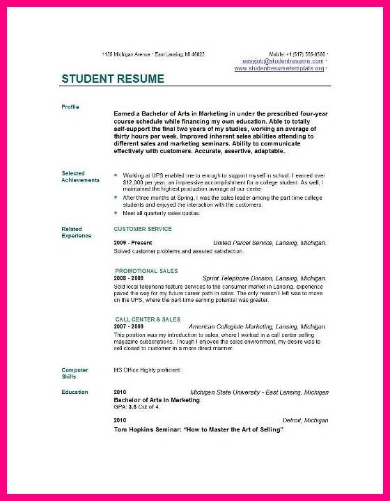 9 Student Cv Examples Http Leavesletter Com 9 Student Cv Examples Php Utm Source Contentstudio Utm Medi Student Resume Job Resume Samples Job Resume Examples