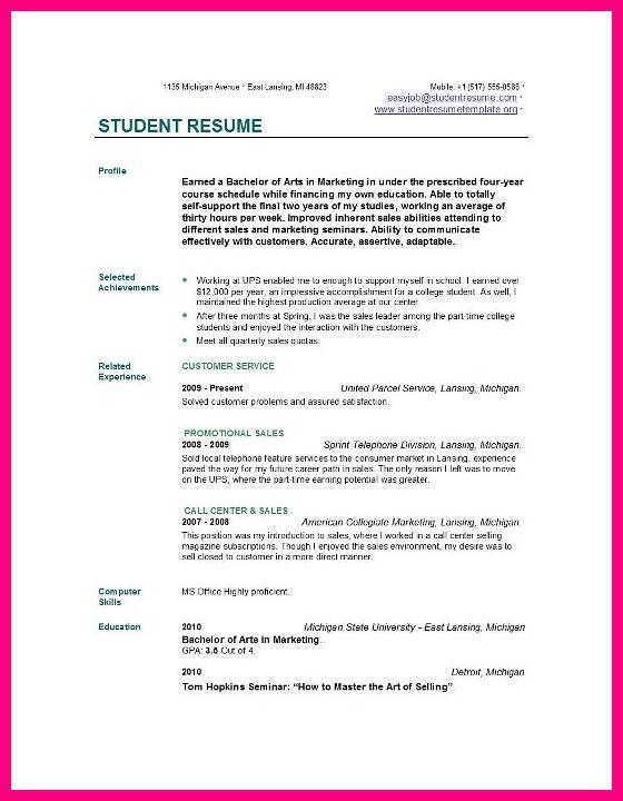 9 Student Cv Examples Http Leavesletter Com 9 Student Cv Examples Php Utm Source Contentstudio Utm Medi Student Resume Job Resume Examples Job Resume Samples