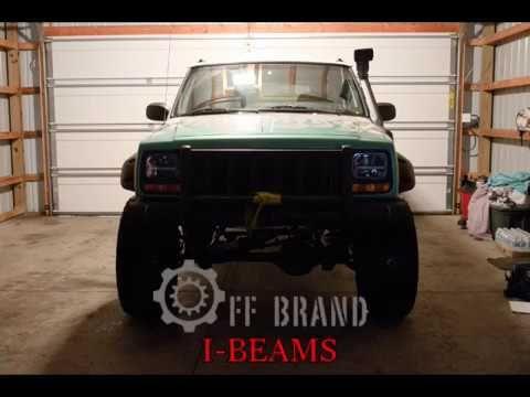 Off Brand I Beam Led Headlights Cherokee Xj Wrangler Yj Comanche Mj Jeep Cherokee Xj Led Headlights Jeep Cherokee