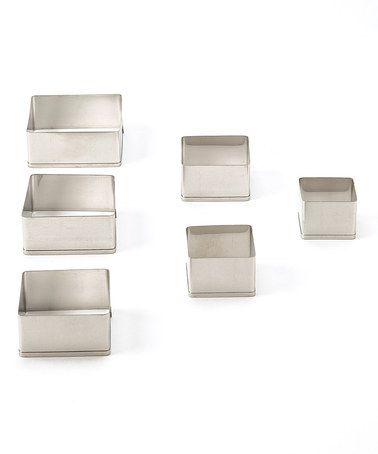 Take a look at this Square Six-Piece Cutter Set by Ateco on #zulily today!