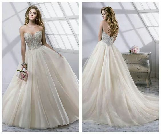 Wedding Dresses Ball Gown Sweetheart: Sweetheart/sparkle/ball Gown