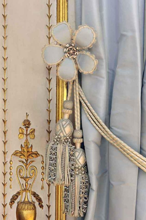 Detail, Cabinet of the Meridian. Versailles the private apartments of Marie-Antoinette  #colorofthemonth #cerulean