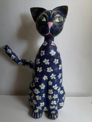 gato de papel mache papel mache papel mache,cartapesta papel,mache