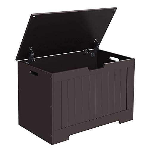 Songmics Vasagle Lift Top Entryway Storage Chest Bench With Safety