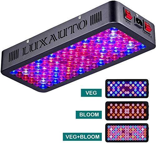 Best Seller Luxauto 1000w Led Grow Light Lens Tech Daisy Chain Design Led Plant Growing Lamp Full Spectrum Indoor Plants Veg Flower Triple Chips 15w Led 1 In 2020 Led Grow Lights