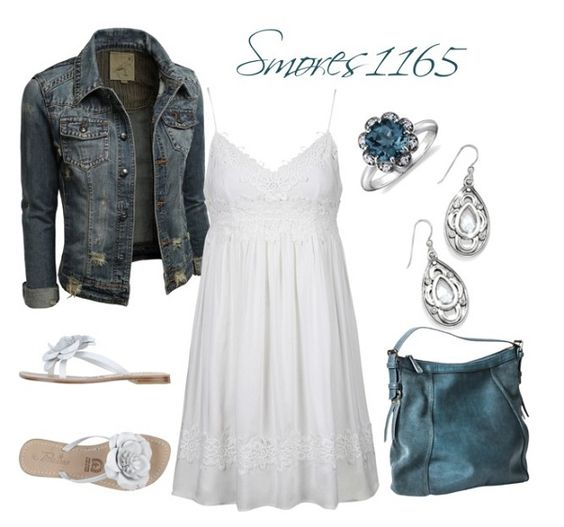 Cute outfit!! Love how the dress flows