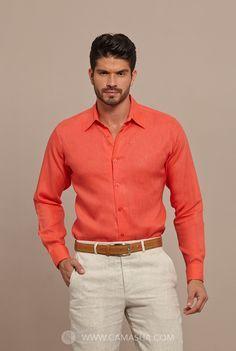 Resultado de imagen para camisas de lino para boda