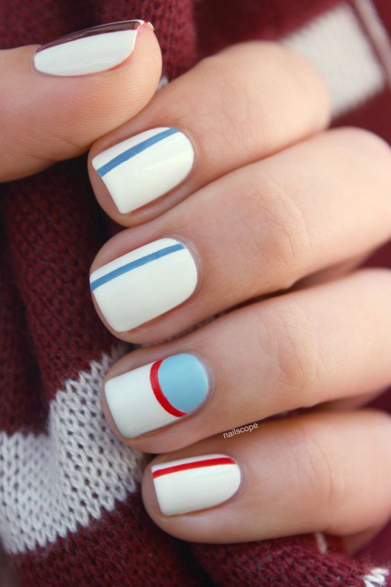 Ice hockey nails (IIHF Ice Hockey World Championship 2014)
