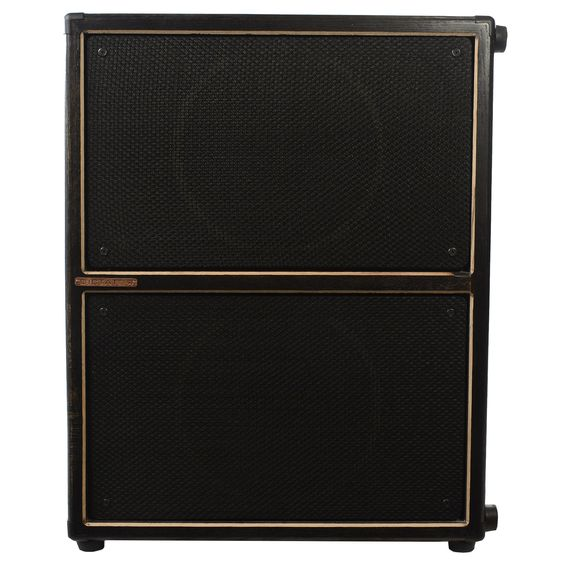 Dictator Cabs Guitar Cabinet 2x12 Black w/ Black Grille