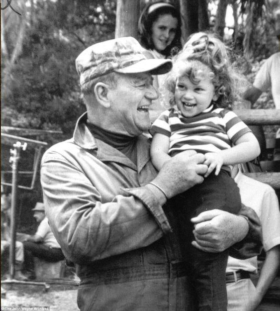 John Wayne Official (@JohnDukeWayne) | Twitter | with daughter, Marisa |