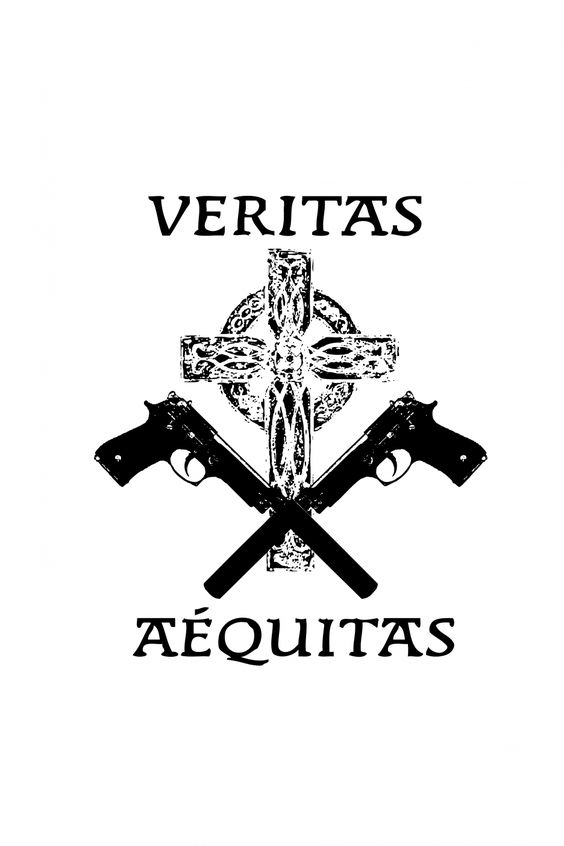 Pinterest the world s catalog of ideas for Boondock saints veritas aequitas tattoos