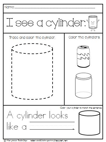 math worksheet : my kindergarten shapes teaching flat and solid shapes in  : 3d Worksheets For Kindergarten
