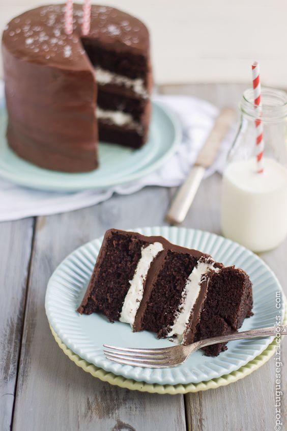 Salted Caramel 'Ding Dong' Chocolate Cake