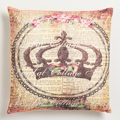 Cost Plus, Throw Pillows And World Market On Pinterest