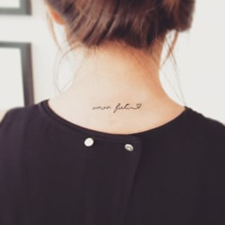 Amor fati tattoo tattoos pinterest lettering tattoo for Amor fati tattoo