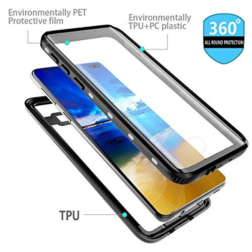 Aicaseme Galaxy S10 Plus Waterproof Case Snowproof Dustproof And Shockproof Ip68 Certified 360 Degree Protection Fully S Water Proof Case Samsung Galaxy Galaxy