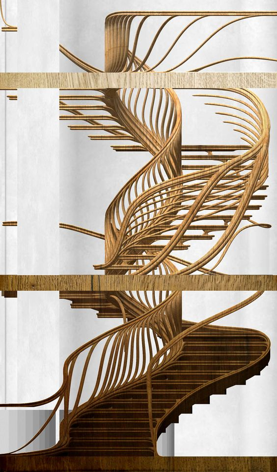 Best An Uber Organic Sculptural Staircase We Ve Been Working On 400 x 300