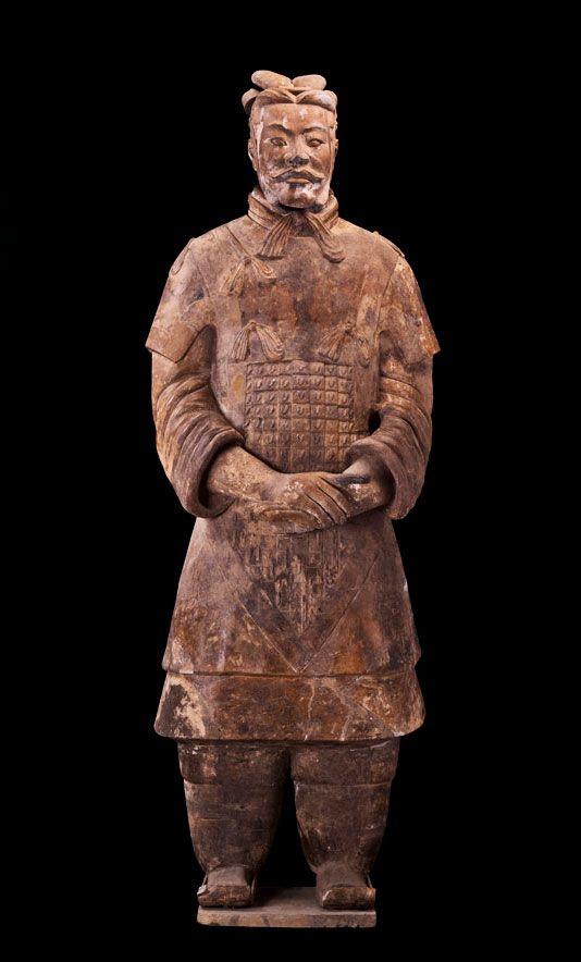 China on Pin... Terracotta Army Qin Dynasty 210 Bc Art