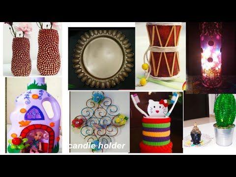 10 Best Out Of Waste Craft Ideas 10 Diy Room Decor Ideas 10 Waste Material Reuse Ideas Bestoutofwast Youtube Diy Room Spray Room Diy Crafts Diy room decor ideas youtube