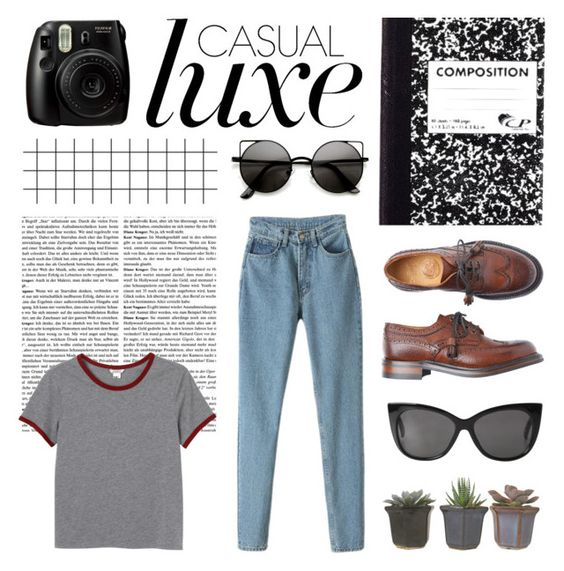 """Loser // Beck"" by galactictraveler ❤ liked on Polyvore featuring Monki, casual, fashionset, casualluxe and songsilike"