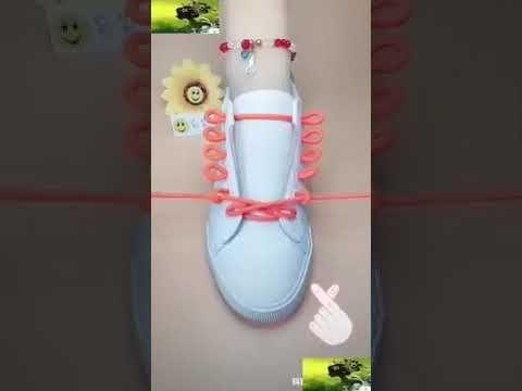 Ide Kreatif Super Keren Cara Mengikat Tali Sepatu Youtube