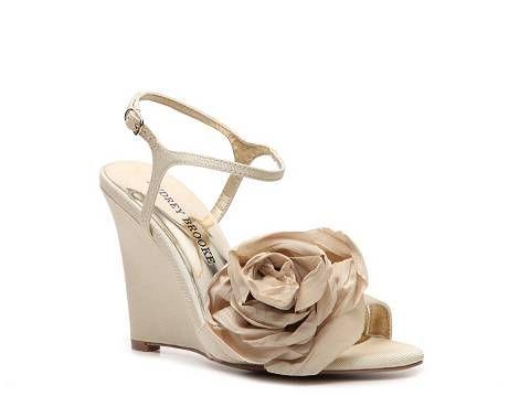 Yay! Bridesmaids shoes!!: High Heels Sandals, Wedding Shoes, Wedding Wedge, Wedding Ideas, Bridesmaid Shoes, Womens Shoes, Women S Shoe