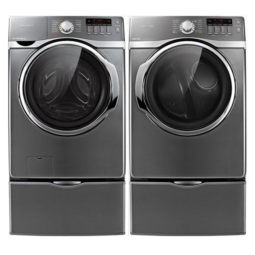 you donu0027t have to dread laundry day with this samsung front load steam washer and dryer set clean home happy home pinterest washers