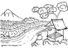 Image Result For Mewarna Pemandangan Sawah Padi Coloring Pages Art Pictures