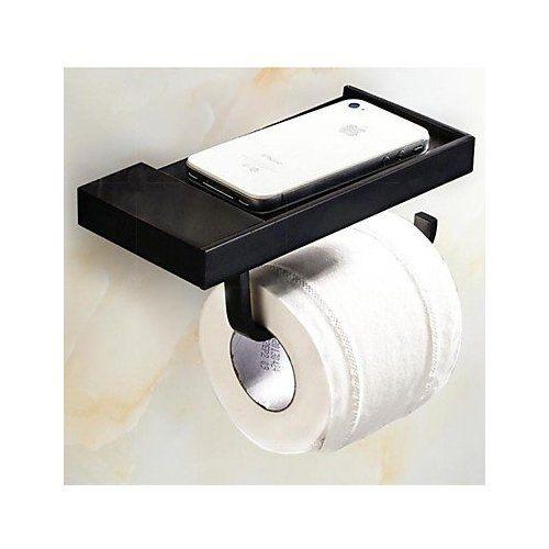 Rozinsanitary Wall Mounted Toilet Paper Holder Antique Brass Holder