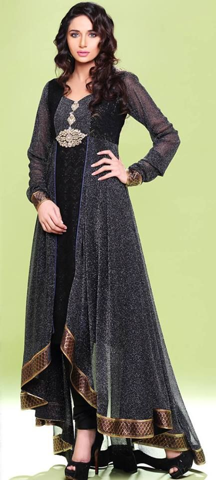Faiza Saqlain Beautiful Party Wear Dresses 2014 For Women - party ...