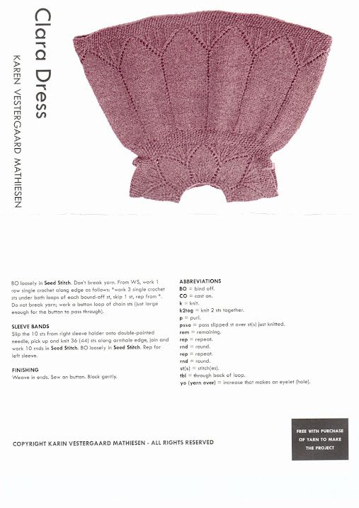 Ravelry free download: Girl\'s Smocked Tunic and Leggings pattern by ...