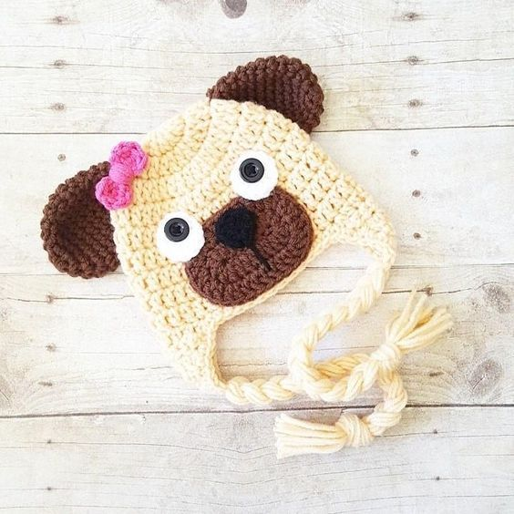 HANDMADE IN UK Crochet Knit Teddy Bear Baby Hat Photo Prop All sizes and colours