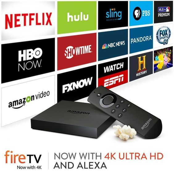 Amazon+Fire+TV+ +Streaming+Media+Player
