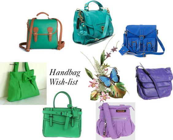 """Handbag Wish-list (part 2)"" by ingram-annelise on Polyvore"