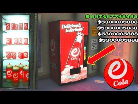 Gta 5 E Cola Vending Machine Glitch 2 Make Millions Important Message For Less Returns Youtube In 2020 Make Millions Gta Gta 5
