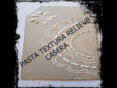 Cómo Hacer Y Pintar Cuadros Con Relieve O Texturas Con Pasta Acrílica Youtube Stencils Easy Diy Crafts Decoupage