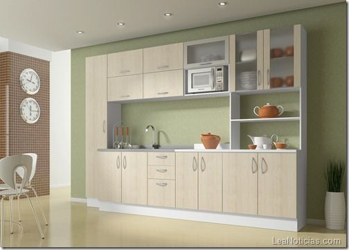 Muebles para cocinas fotos de decoraci n decorar cocinas - Ideas para decorar cocina ...