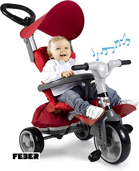 Chollo Triciclo Evolutivo Feber Baby Plus Music Prime Por 60