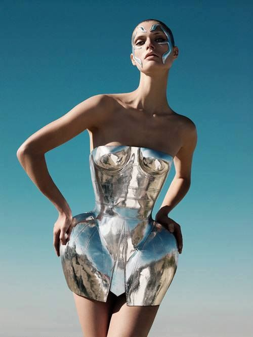D&G metal Dress