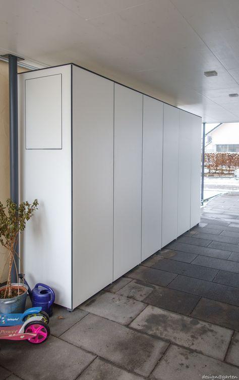 Terrassenschrank Xxl Unter Carport Win By Design Garten Augsburg Wetterfest Uv Bestandig Terrassenschrank Balkonschrank W 2019