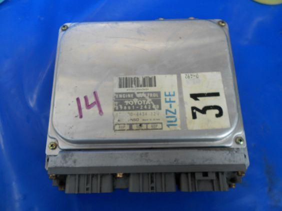 USED LEXUS SC400 ECU ECM Engine Computer 89661-24240 1992-94 1UZ-FE V8