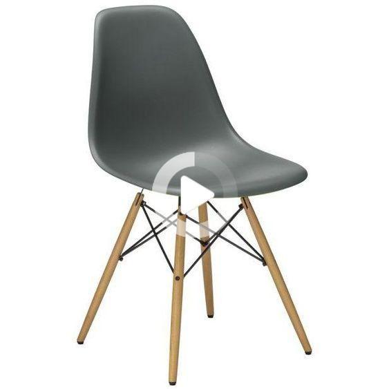 Vitra Stuhl Eames Plastic Side Chair Dsw 83x46 5x55 Cm Gestell Eichefarbig Designer Charles Ray Vitra Stuhl Eames Stuhle