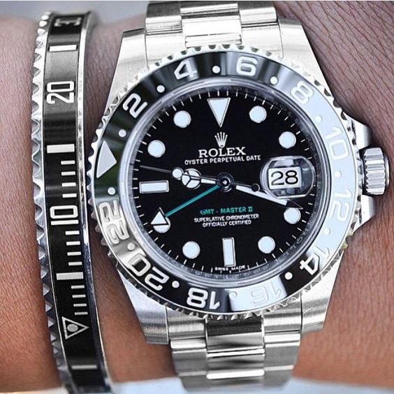 Rolex GMT-Master II & matching Speedometer Bracelet  Courtesy of @Michael_Louis_ by gilles_ancion