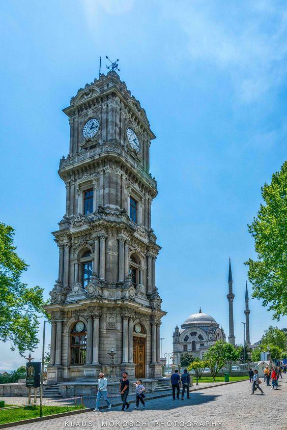 https://flic.kr/p/GwhCUQ | Istanbul die Perle des Orients | Uhren Turm Dolmabahçe-Palast in Richtung Moschee mit Minarett Türme hier das digitale Fotobuch slate.adobe.com/cp/T0IHm/ viel Spaß beim Betrachten der Bilder